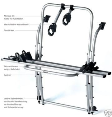 Aufbau Linea Fahrradtraeger