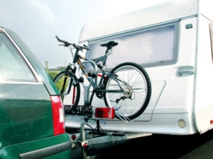 Deichsel Fahrradträger