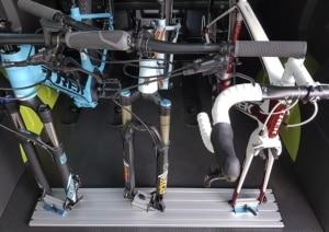 Fahrradträger Innenraum
