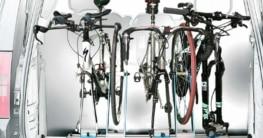 Innenraum Fahrradträger