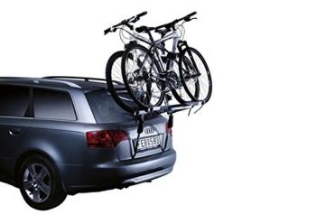 Thule Heckträger Fahrradheckträger ClipOn High 9105 für 2 Fahrräder 30kg silber